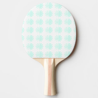動揺してな花弁の雪片パターン 卓球ラケット