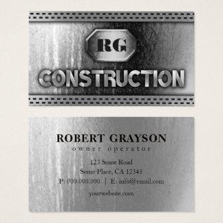 動揺してな鋼鉄金属およびグリルの網の建築 名刺