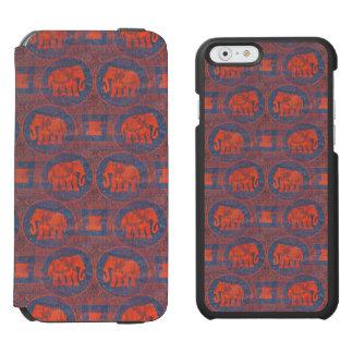 動揺してな飾られた象 INCIPIO WATSON™ iPhone 5 財布型ケース