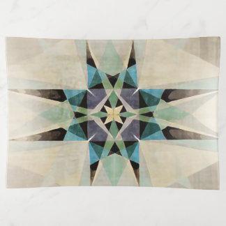 動揺してなKaleidescopicの水彩画のペルシャ人の星 トリンケットトレー