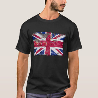 動揺してなNations™ -イギリス(ワイシャツ) Tシャツ