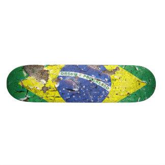 動揺してなNations™ -ブラジル(スケートボード) カスタムスケートボード