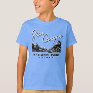 動揺してなZion渓谷の国立公園のワイシャツ Tシャツ