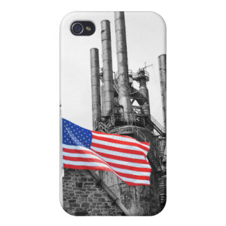 動揺しない旗のSpeckのiPhoneの場合 iPhone 4/4S ケース