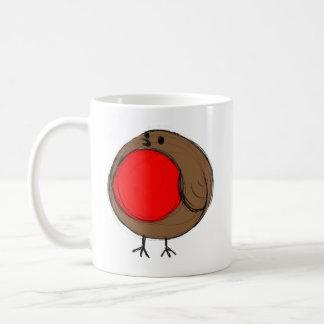 動揺のロビンの楽しいクリスマスのマグ コーヒーマグカップ