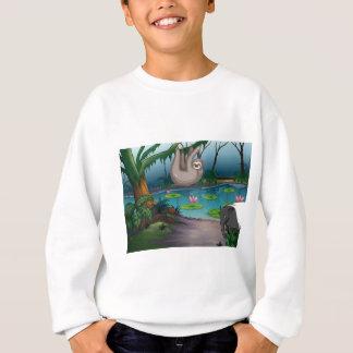 動物および池 スウェットシャツ