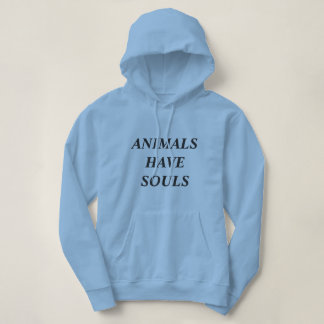 動物に精神の女性のロゴのフード付きスウェットシャツがあります パーカ