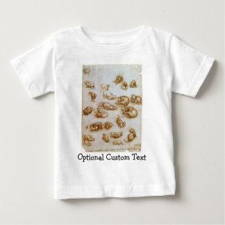 動物のための勉強 ベビーTシャツ