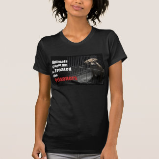 動物のない囚人 Tシャツ