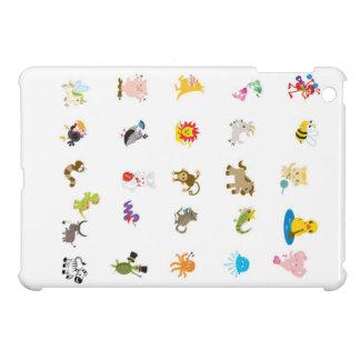 動物のアルファベットのiPad Miniケース iPad Mini Case