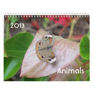 動物のカレンダー カレンダー