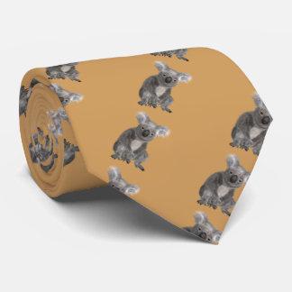 動物のコアラ ネクタイ