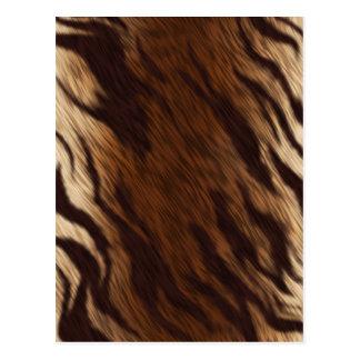 動物のコートの効果 ポストカード