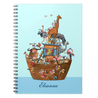 動物のノアの箱舟-ノート ノートブック