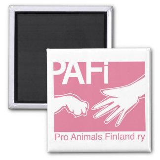 動物のフィンランドのプロロゴ マグネット