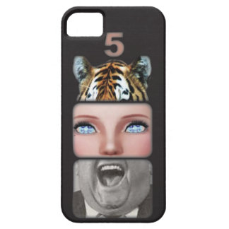 動物の口のマスク iPhone SE/5/5s ケース