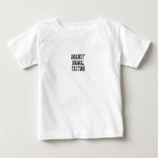 動物の味見に対して ベビーTシャツ