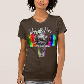 動物の宇宙飛行士の宇宙使命の専門家のヒツジ Tシャツ