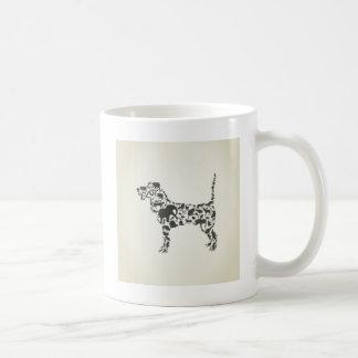 動物の後をつけて下さい コーヒーマグカップ