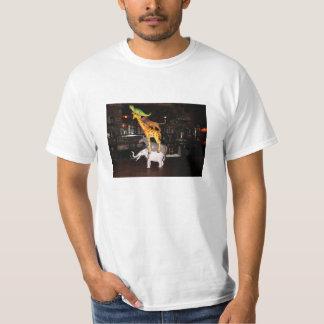 動物の積み重ね Tシャツ