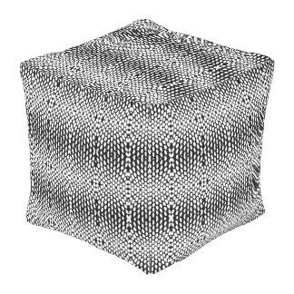 動物の装飾的なDesigner#1モダンな立方体の枕 アウトドアプーフ