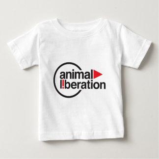 動物の解放のTシャツ ベビーTシャツ