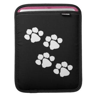 動物の足のプリント iPadスリーブ