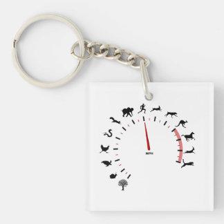 動物の速度計 キーホルダー
