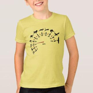 動物の速度計 Tシャツ