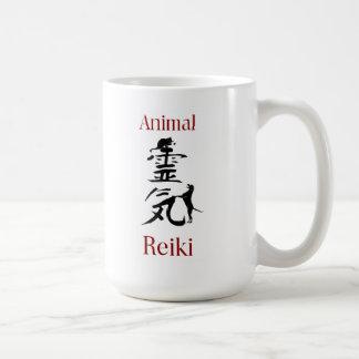 動物の霊気のマグ コーヒーマグカップ