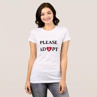 """""""""""動物のTシャツを採用して下さい Tシャツ"""