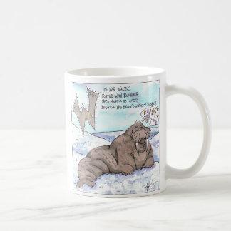 動物は私をおびえさせています コーヒーマグカップ