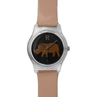 動物テーマのカスタマイズ可能なサイ 腕時計