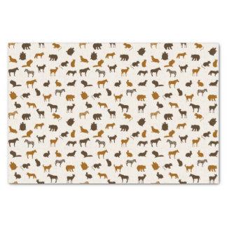 動物パターン1 薄葉紙