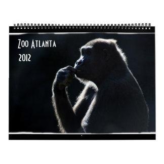 動物園のアトランタ2012のカレンダー カレンダー