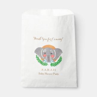 動物園のテーマ-かわいい象の好意のバッグ フェイバーバッグ