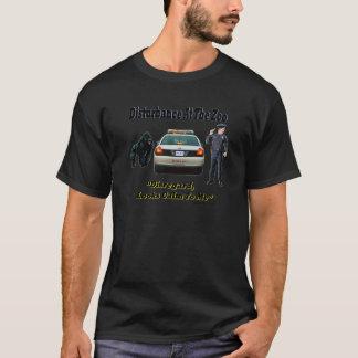 動物園の妨害 Tシャツ