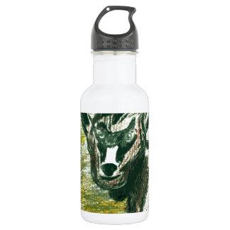 動物園への旅行-ベビーのヤギ ウォーターボトル