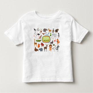 動物園動物 トドラーTシャツ