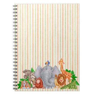 動物園動物-ノート ノートブック