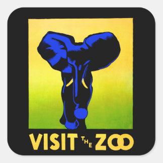 動物園!! スクエアシール