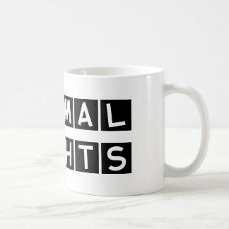 動物権 コーヒーマグカップ