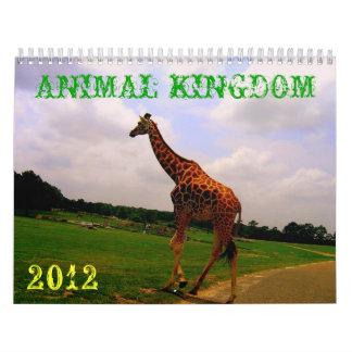 動物界 カレンダー