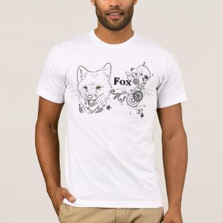 動物界: キツネ Tシャツ