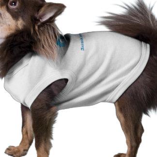 「動物精神がに」に、ユニークなロゴアンジェルマンあります ペット服