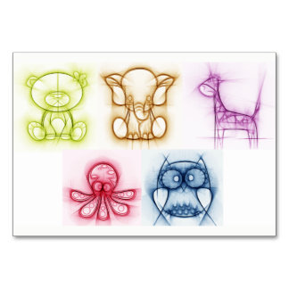 動物色 カード