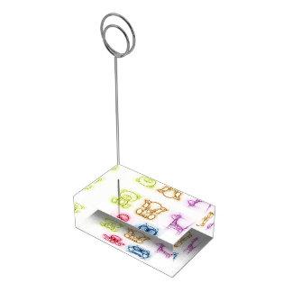 動物色 テーブルカードホルダー
