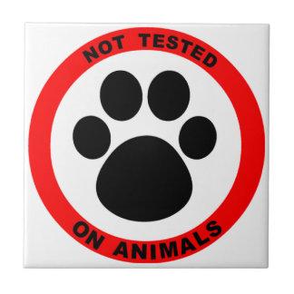 動物試験の記号無し タイル