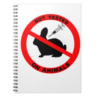 動物試験の記号無し ノートブック