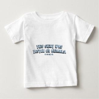 動物試験 ベビーTシャツ